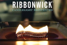 Ribbonwick / A Ribbonwick Candle transforms a room by engaging your senses with it's hypnotic flame and sophisticated scent