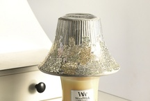 Woodwick Accessories / Let the flame twinkle through this glass collection and the fragrance begin...