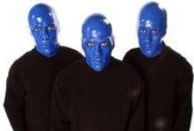 Blue Man Group / The three decade international entertainment phenomenon features three mysterious bald, blue men who take the audience through a multi-sensory experience while not uttering a sound.
