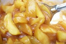 APPLE RECIPES  / by Donna Freed