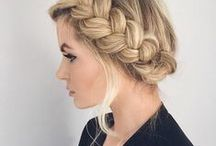 ♡ Hair / Hair color, updo's, curls, everything hair! #hair #hairstyle #tutorial #inspiration