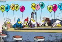 New Year's Eve Comics