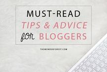 ♡ Blogging tips / Tips for your blog