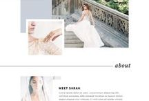 Website Design / Website design inspiration for custom websites and website themes.