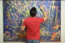 Art studio life! / Pics of my life in the studio and art studios in general.
