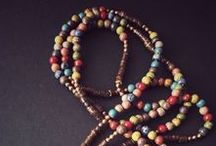 Jewelry / long necklace, bracelet, earrings,ethnic,hippie, boho, minimal, vintage, folk…jewels!