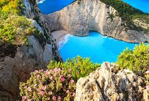 Paradise in the world. / There are so many beautiful places in this world! My dream is holidays in Grecee on Zakynthos island. It's such an amazing place!