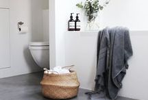 ♡ Bathroom / Inspiration for the bathroom. A place to relax and enjoy.
