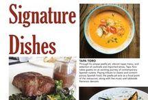 #LocalSignatureDishesOrlando / Signature dishes from some of our favorite Orlando restaurants