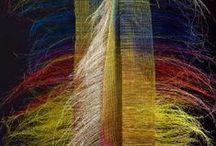 Inspirations for fabrics designs, Elena Gutierrez Giulianotti / Hand made fabricks