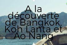 Thaïlande / Thailande-A la découverte de Bangkok, Koh Lanta et Ao Nang-Idée d'itinéraire-mes bons plans et conseils