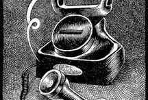 Fletcher Ilustraciones / Estas son algunas de las ilustraciones personalizadas que incluimos en el catálogo de presentación de fletcher.  Originales únicos que reciben algunos de nuestros clientes. Una pequeña obra de arte. Parte de fletcher. Un pedacito de nosotros mismos, muestra del detalle y meticulosidad del talento made in fletcher.  Su valor es incalculable.