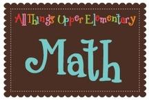 Math {Grades 3-5} / Math centers, math printables, math activities and more for upper elementary math classrooms.
