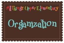 Organization {Grades 3-5}