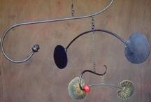 Hanging decor - mobiles, windchimes, baubles...