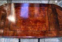 Restauración de muebles / Restauración de muebles u objetos de madera, cerámica y hierro