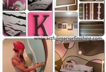 Designing with Paint / I love Trendsetting with Paint. The possibilities are limitless!