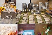 It's all in the  details! / Our clients have such creative ideas with their wedding decorations!
