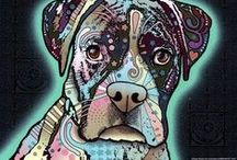 Dean Russo's Animal Art / As a popular contemporary pop artist, Dean Russo adds a twist to your ordinary animal photographs. He uses a combination of vibrant colors and shapes to make these images come to life! http://www.fulcrumgallery.com/a116905/Dean-Russo.htm