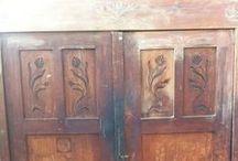 Felújítás / Szekrények, régi bútorok felújítása