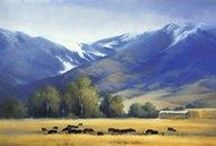 Country art / Country art is a category of art that focuses on portraying rustic and simple lifestyles. These works can either feature modern country lifestyles or old-fashioned images. http://www.fulcrumgallery.com/c32653/country-art.htm