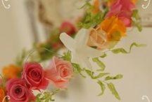 【ブライダル】 / ブーケや花冠などのアイテムのギャラリー