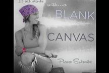 """""""Blank Canvas"""" / My new series """"Blank Canvas"""" is about showing you how to make over rooms into Vibrant, Striking Spaces."""