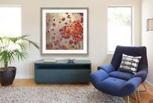 Orange / Decorate with the color that will brighten your home during any season! http://www.fulcrumgallery.com/c35032/orange-color-art.htm
