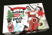 Mr. Micknit DIY Holiday Patch Kit / Crafts that we made with the Mr. Micknit kit to give you some inspiration! / by Mr. Micknit