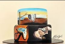 Piece of Cake! / Decorating with cake art is a piece of cake! Get inspired by cake art.   http://www.fulcrumgallery.com/c7469/cake-art.htm