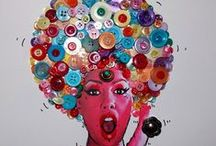 The Art of Buttons! / Whether it is art depicting buttons or art made out of buttons, you can find it here.