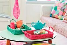 Home Decor / Wonderful and colorful home decor ideas.  Some contemporary, eclectic, and modern design.