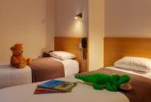 Chambres Familiales / Chambres pour les familles dans notre hôtel bord de mer à St Malo : de 3 à 6 personnes, avec vue sur mer ou côté intérieur / rue