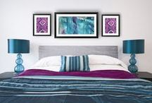 Bohemian Trends / Give your space a touch of boho chic decor with bohemian artwork!