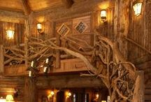 Magical Hobbit Homes / Homes you think a Hobbit or Magical creature may inhabit.