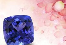 Cushion Tanzanite / Search in our inventory of tanzanite cushion rings. A cushion cut tanzanite nicely featured in a ring makes it adorable.