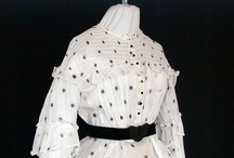 Civil War Sheer Dress / Sheer Dresses, Originals and Reproductions, 1860-65