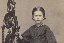 Carte de Visites (Children) / Carte de Visites and photographs of mid 19th century children