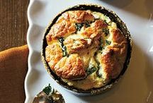 Savory Veggie Tarts and Bakes / Veggies baked in a tart, puff pastry or souffle