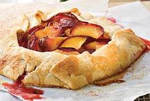 Stone Fruit Pies and Tarts / Peaches, plums, apricots