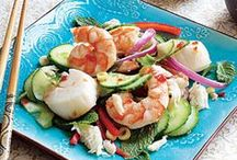 Salad with Shrimp or Seafood