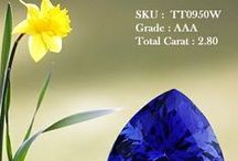 Trillion Tanzanite / We at tanzanite deliver a wide selection of trillion tanzanite gems. These gems are calibrated by the great intensity and care at toptazanite.com because we understand your need.