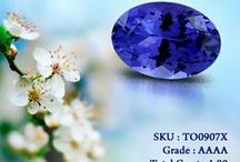 Oval Tanzanite / Shimmering Oval shaped tanzanite when featured in a ring makes it beautiful and incomparable. Order you delivery to make it in your account.