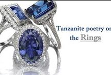Tanzanite Jewelry / Our tanzanite jewelry store serves you entire jewelry pieces. Within the various calibrated shapes of beautiful tanzanite stone.