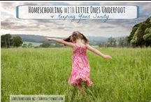 Homeschool | Encouragement / Weeds in the garden