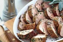 Pork Tenderloins / Pork tenderloins as roasts and cutlets