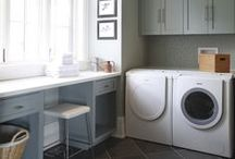 Our Laundry Rooms & Mudrooms. / Custom cabinetry designed and built by us.