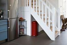 Interieur en verbouwing / Het opknappen van een woning tot een licht huis met veel leefruimte.