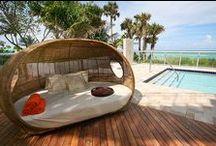Hippie paradise / interior design colorful