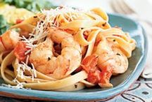 Pasta with Shrimp / Pasta with shrimp